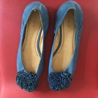 Балетки туфли замшевые 38 размер