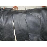 Натуральная кожа для рукодельниц в виде распоротого пиджака