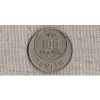 Тунис 100 франков 1950 //(GB)/