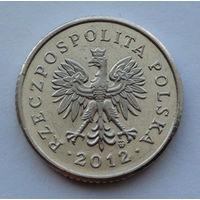 Польша 10 грошей. 2012