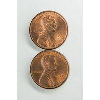 1 цент США 1990 D. Поштучно