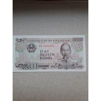 Вьетнам 2000 донгов 1988