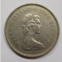 Гонконг 1 доллар 1980 г