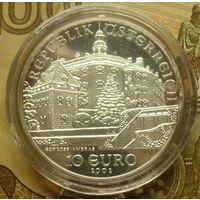Австрия 10 евро 2002 г пруф