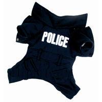 Полицейский комбинезон трикотажная баечка для собак (20)