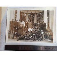 Редкость.1939. г. Слуцк оперативные работники НКВД  после допросов