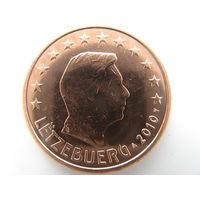 Люксембург 5 центов 2010 г. UNC!