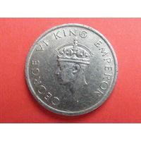 1 рупия 1947 года