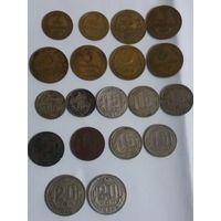 Лот дореформенных монет(1933-1957)+небольшой бонус