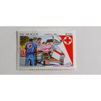 Никарагуа 1983. Красный крест
