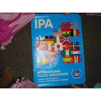 """Плакат """"IPA"""" международной полицейской ассоциации"""