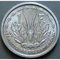 1к Камерун 1 франк 1948 В КАПСУЛЕ (395) распродажа коллекции