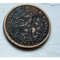 Нидерланды 1/2 цента, 1914 1-11-26