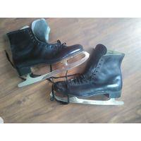 Фигурные коньки LICO (кожа)43 размер -45р