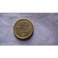 Литва, 10 Centu 2006г.  распродажа