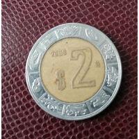 Мексика. 2 песо 2009