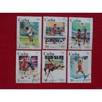 Куба 1983. Олимпийские игры в Лос Анжелесе. Полная серия.