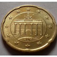 20 евроцентов, Германия 2013 G, AU