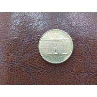 200 лир 1990 Италия ( 100 лет со дня основания Государственного Совета )