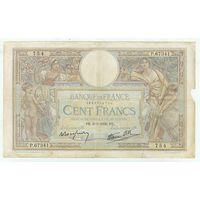 Франция, 100 франков 1939 год.