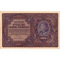 Польша, 1 000 марок польских, 1919 г.