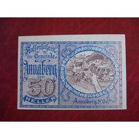 30 геллеров 1920 год Австрия Аннаберг