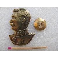 Знак. И.В. Сталин. тяжёлый, винт