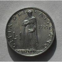 Ватикан, 1 Лира 1953 PIUS XII (87)