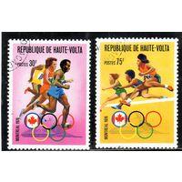Верхняя Вольта. Ми-617,619 . Спорт. Легкая атлетика. Бег.Олимпийские игры. Монреаль.1976.