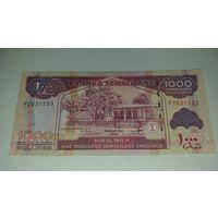 1000 шиллингов Сомалиленд 2014 UNC