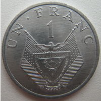 Руанда 1 франк 1985 г. Состояние! (d)