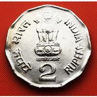 117-21 Индия, 2 рупии 2000 г.