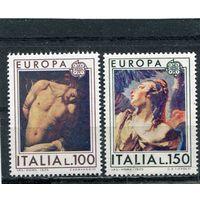 Италия. Живопись. Европа СЕРТ 1975