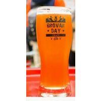Пивной бокал под пиво Brovar Day fest .