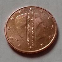5 евроцентов, Нидерланды 2018 г., UNC