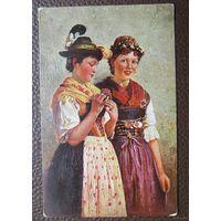 Украшенная к танцу  текстурированная до 1917