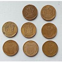 Лот монет ЮАР 50 центов