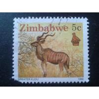 Зимбабве 1990 стандарт, антилопа