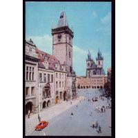 1975 год Чехословакия Прага Вид на Староместскую площадь