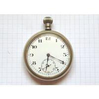 Военные карманные часы, Швейцария для лётчиков Великобритании 1940-е, на отличном ходу, 15 камней!
