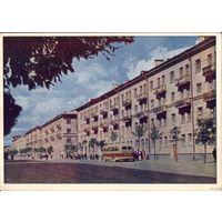 Витебск 1962 год Улица Ленина