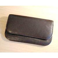 Кожаный кошелёк в отличном состоянии