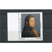 Италия. 2010 Живопись Итальянский художник Пьетро Аннигони (1910-1988). Автопортрет