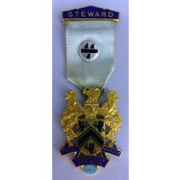 Медаль масонская