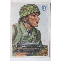 Карточка 3 Рейх. 1940 г. Открытка. В. Вилльрих.