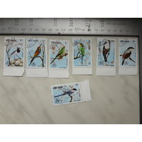 Марки Вьетнам птицы набор