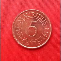 06-06 Маврикий, 5 центов 2012 г.