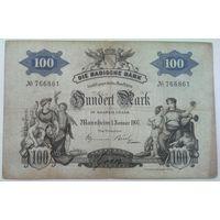 100 марок Баден