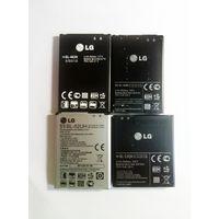 Аккумуляторы для телефонов LG, оригинальные, б/у