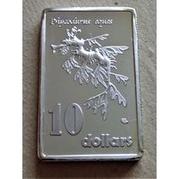 Остров Кермадек 10 долларов 2017